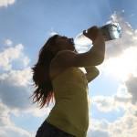 Bajando de peso con la dieta del agua